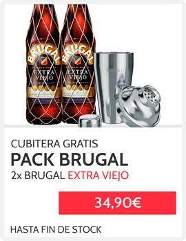 Promocion Ron Brugal + Cubitera