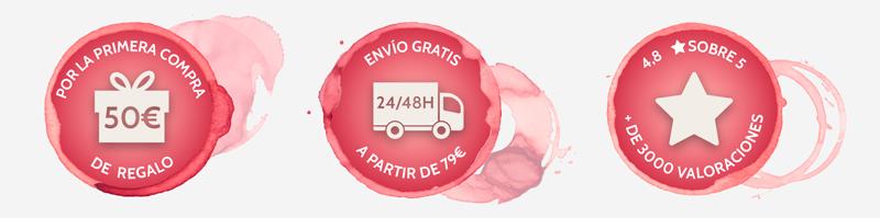 Ventajas comprar vino online en ENBOTELLA