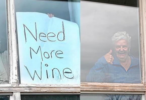 La increíble historia de Annette y su «Need More Wine»